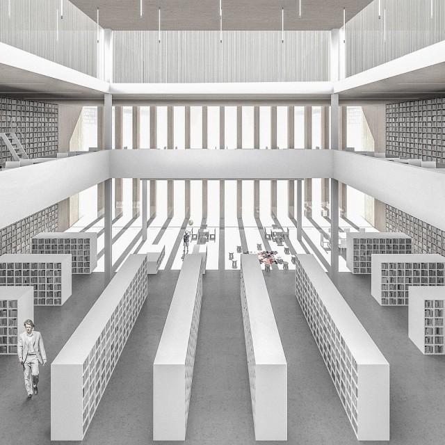 Biblioteka i Urząd Czechowice-Dziedzice