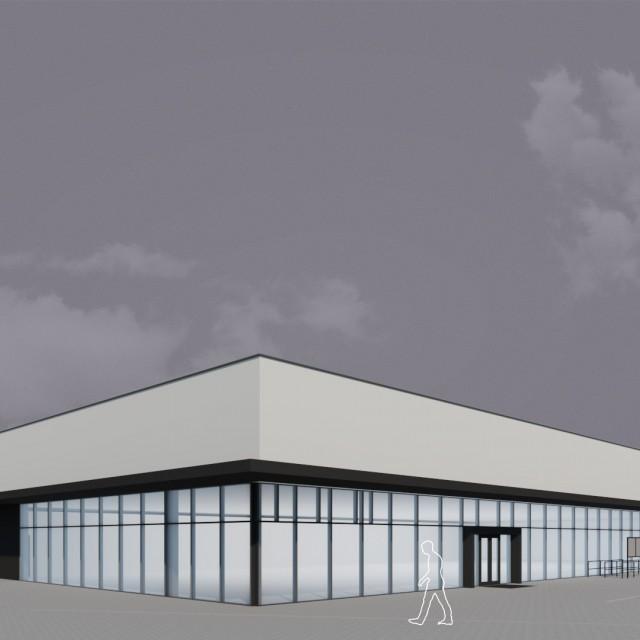 Budynek Handlowo-Usługowy Koszalin
